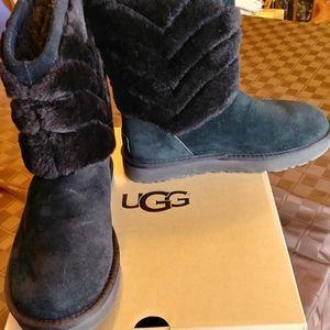 Women's Ugg Black Boots